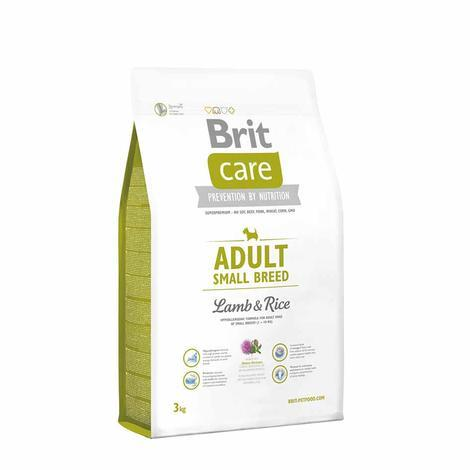 Granule BRIT Care Adult Small Breed Lamb & Rice - 3
