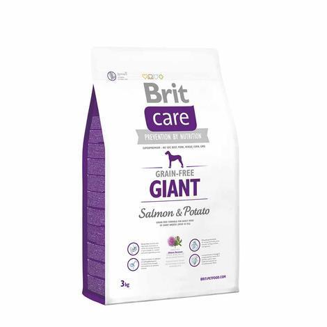 Granule BRIT Care Grain-Free Giant Salmon&Potato - 3
