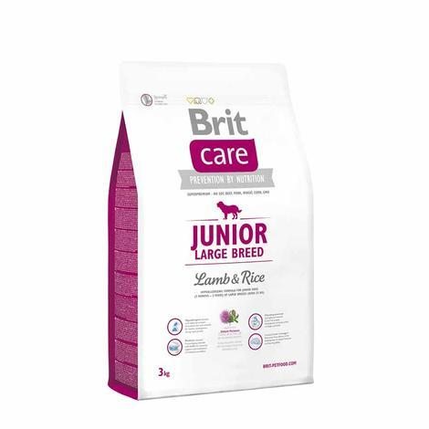 Granule BRIT Care Junior Large Breed Lamb & Rice - 3