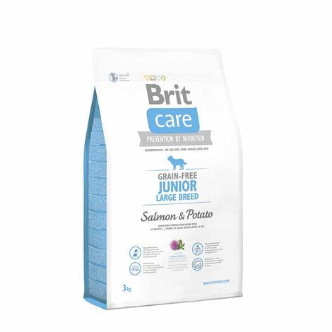 Granule BRIT Care Grain-Free Junior Large Breed Salmon & Potato - 3
