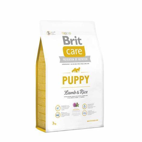 Granule BRIT Care Puppy Lamb & Rice - 3
