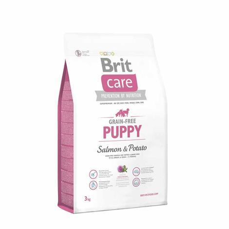 Granule BRIT Care Grain-Free Puppy Salmon & Potato - 3