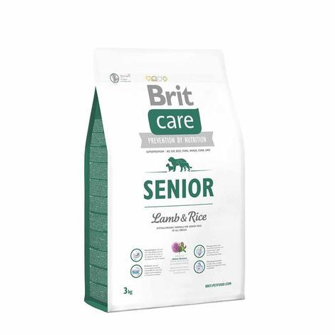 Granule Hypoalergenní krmivo Granule BRIT Care Senior All Breed Lamb & Rice - 3