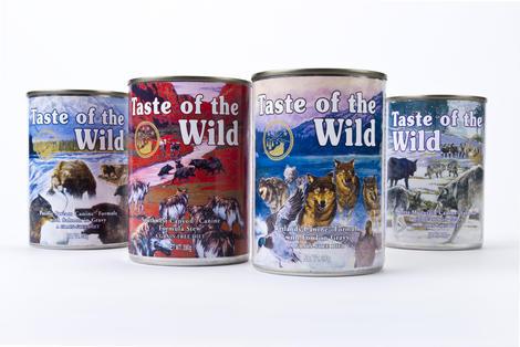 Taste of the Wild Wetlands Wild Can 375g - 3