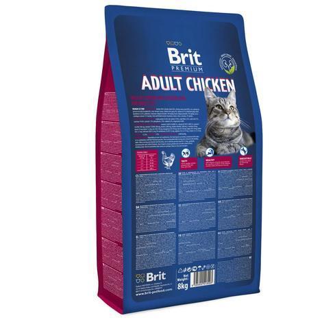 BRIT Premium Cat Adult Chicken - 3