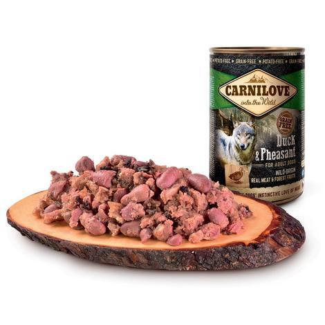 Konzerva CARNILOVE Wild Meat Duck & Pheasant 400g - 3