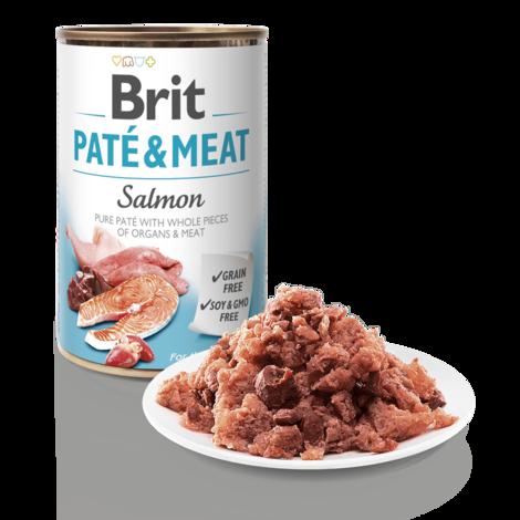 BRIT Paté & Meat Salmon - 3