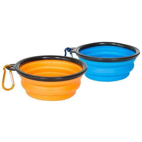 SIPPY -  COLLAPSIBLE DOG BOWL SET - 3