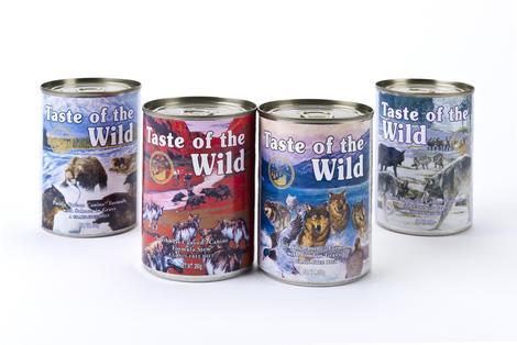 Taste of the Wild Wetlands Wild Can 375g - 4