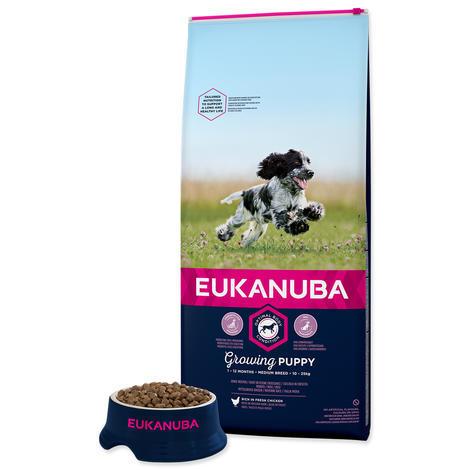 EUKANUBA Puppy & Junior Medium Breed - 4