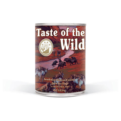 Taste of the Wild Southwest Canyon Canine 13kg + konzerva ZDARMA  - 4