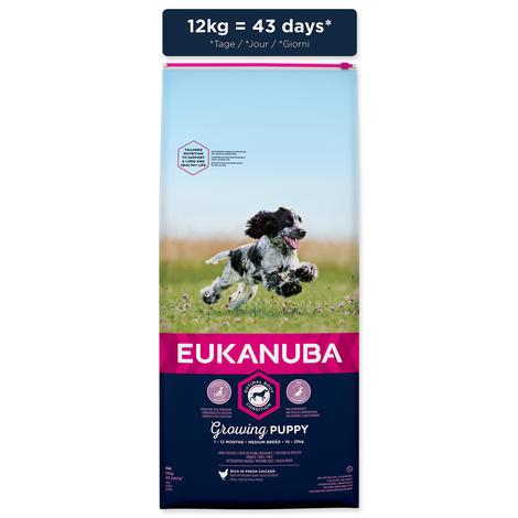 EUKANUBA Puppy & Junior Medium Breed - 5