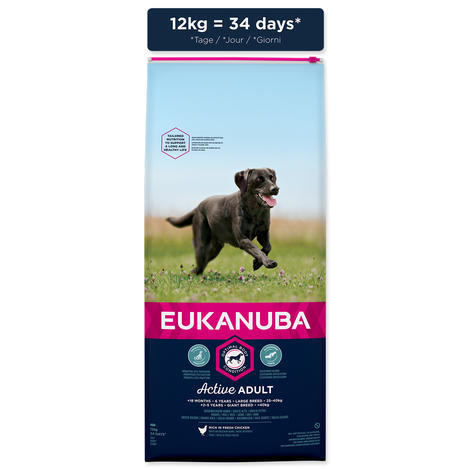 EUKANUBA Adult Large Breed - 5