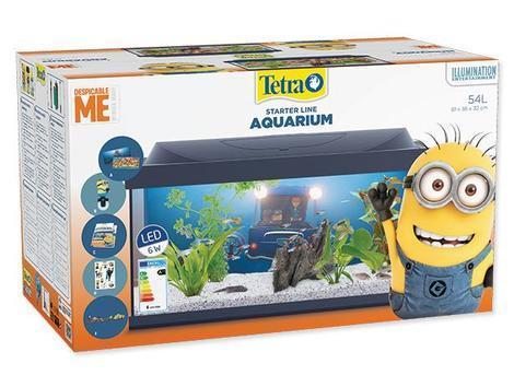 Akvárium set TETRA Mimoni LED !! POUZE OSOBNÍ ODBĚR !! 54l  - 7