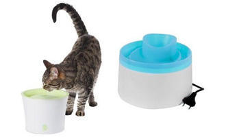 Fontány pro kočky - s dopravou zdarma BEZEDNAMISKA.CZ
